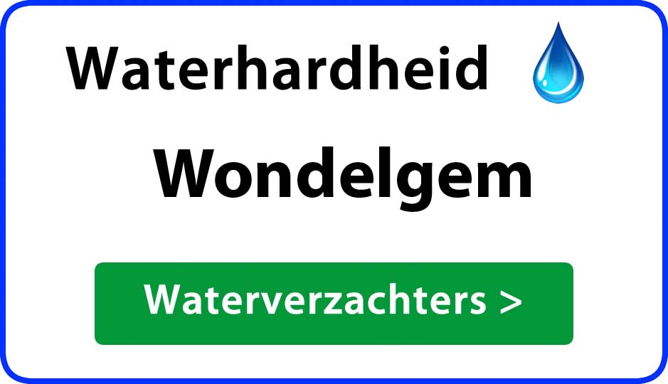 waterhardheid wondelgem waterverzachter