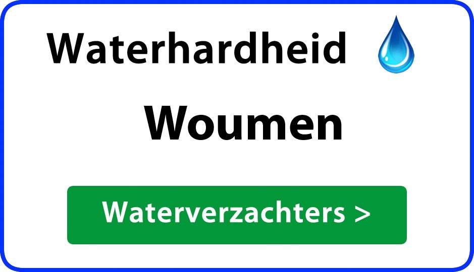 waterhardheid woumen waterverzachter
