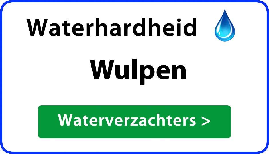 waterhardheid wulpen waterverzachter