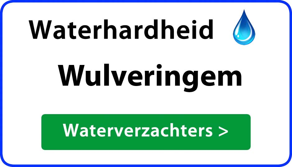 waterhardheid wulveringem waterverzachter