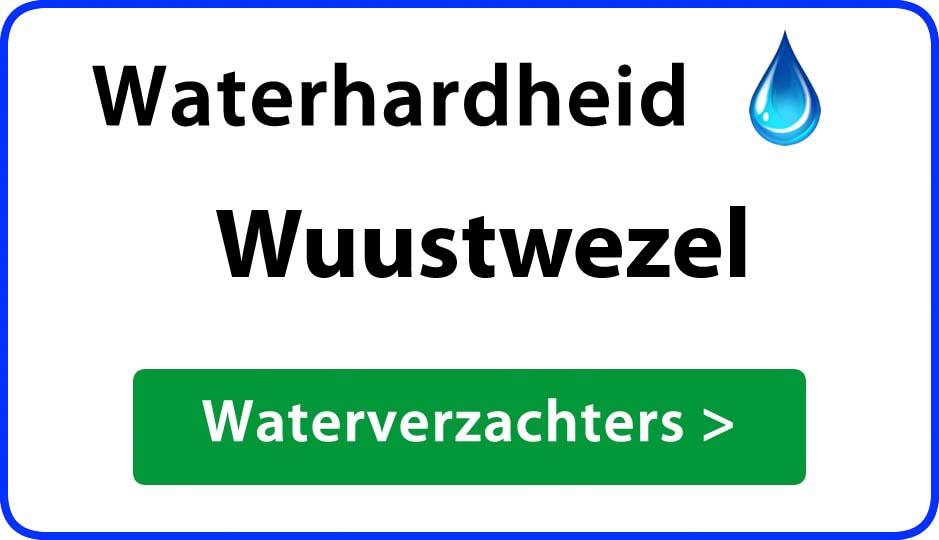 waterhardheid wuustwezel waterverzachter