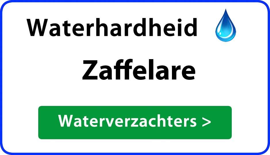 waterhardheid zaffelare waterverzachter