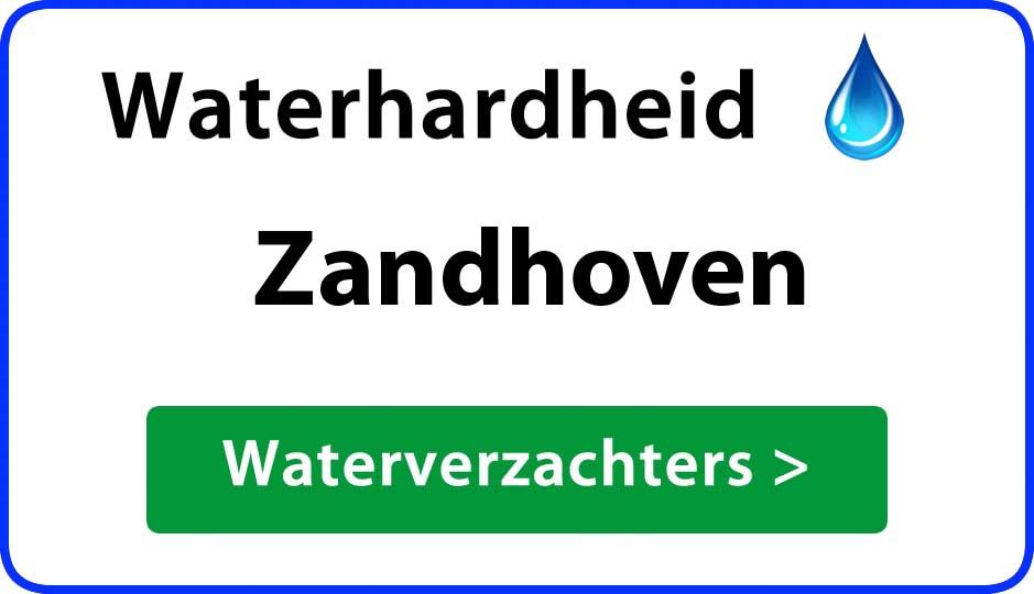 waterhardheid zandhoven waterverzachter