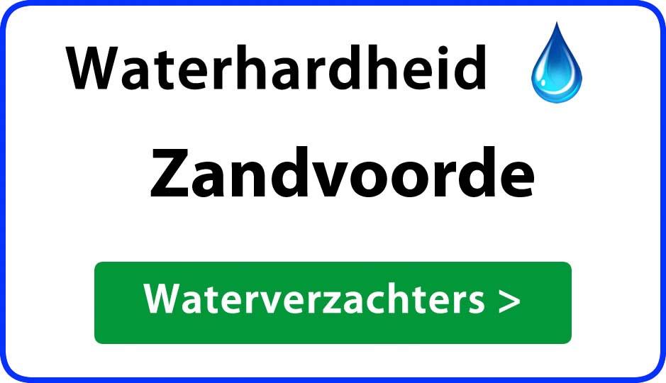 waterhardheid zandvoorde waterverzachter