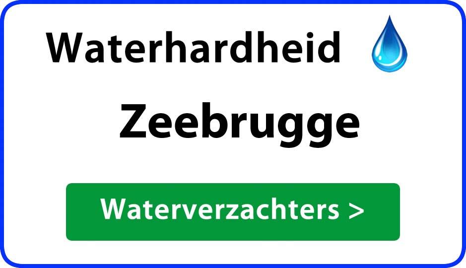 waterhardheid zeebrugge waterverzachter