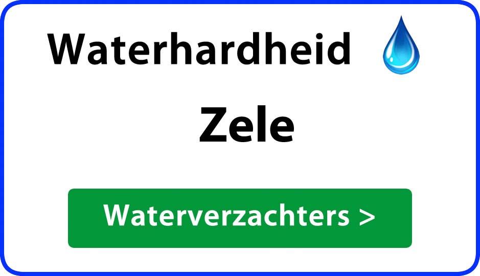 waterhardheid zele waterverzachter