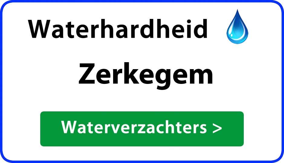 waterhardheid zerkegem waterverzachter