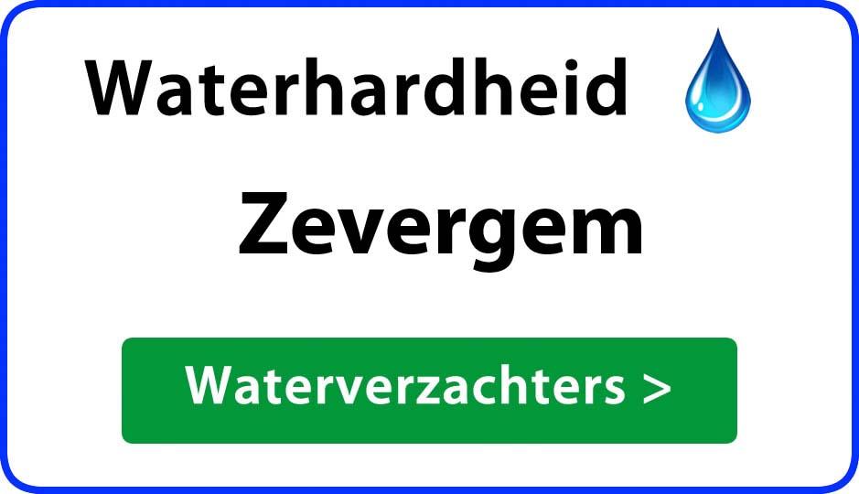 waterhardheid zevergem waterverzachter