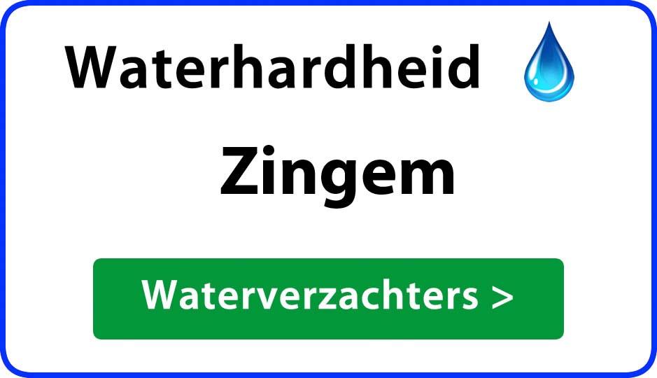 waterhardheid zingem waterverzachter