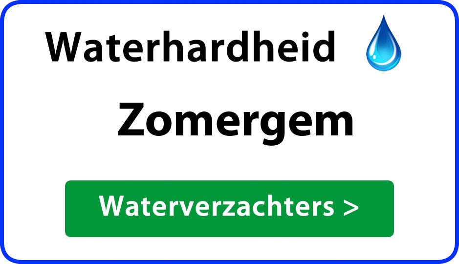 waterhardheid zomergem waterverzachter