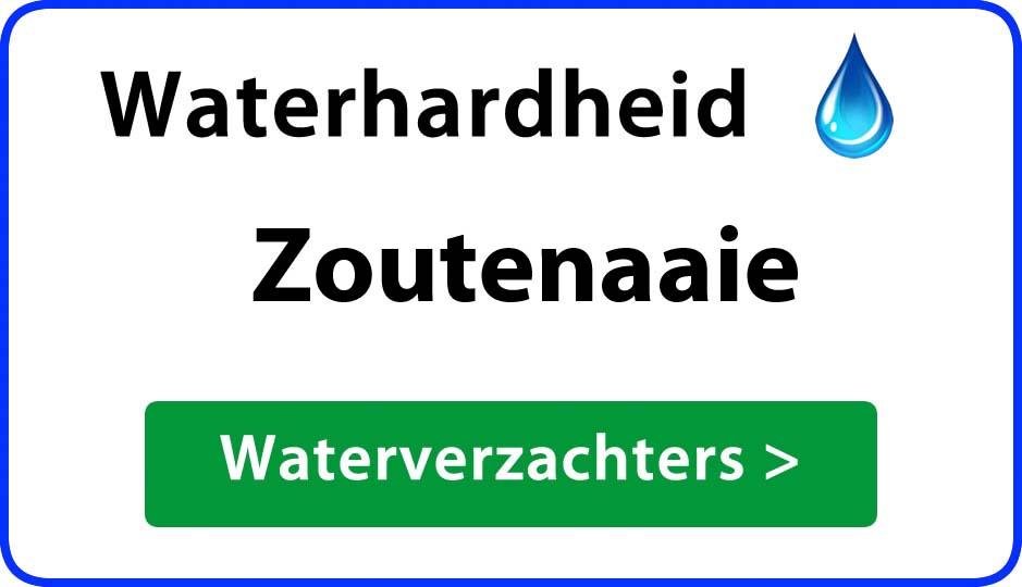 waterhardheid zoutenaaie waterverzachter