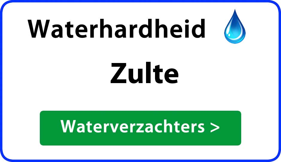 waterhardheid zulte waterverzachter